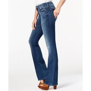 7 For All mankind low waist bootcut Jeans 25